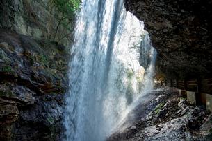 雷滝の写真素材 [FYI02461460]
