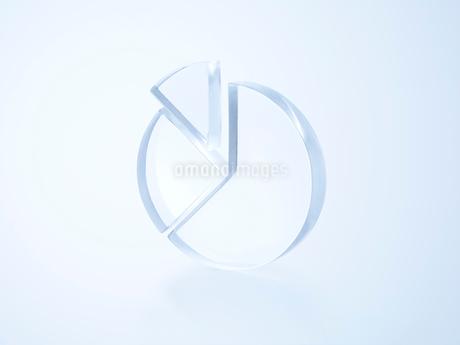 透明な円グラフの写真素材 [FYI02465402]