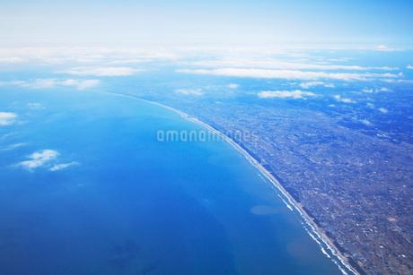 鹿島灘の海岸線の写真素材 [FYI02477574]