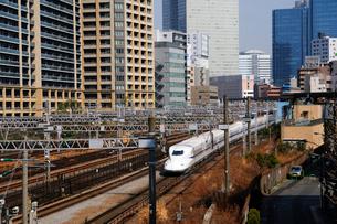 東海道新幹線 N700Aの写真素材 [FYI02487639]