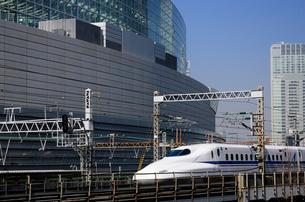 東海道新幹線 N700Aの写真素材 [FYI02488136]