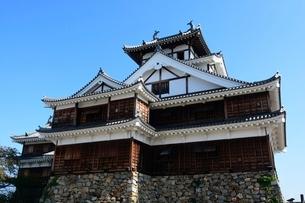 福知山城,大天守と小天守の写真素材 [FYI02490048]