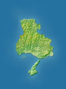 兵庫県地図のイラスト素材 [FYI02491074]