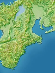 三重県地図のイラスト素材 [FYI02491111]