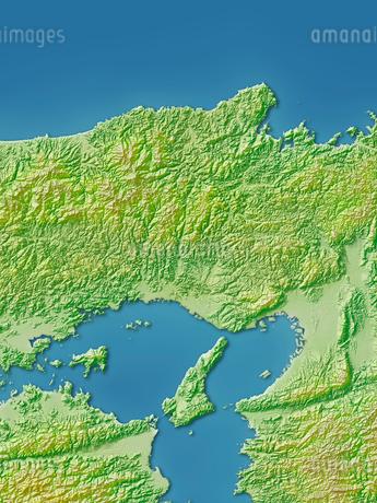 兵庫県地図のイラスト素材 [FYI02491230]