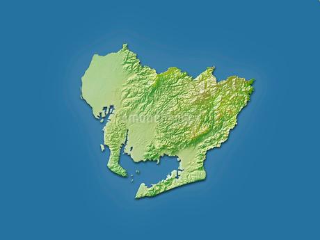 愛知県地図のイラスト素材 [FYI02491241]