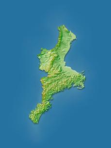 三重県地図のイラスト素材 [FYI02491391]