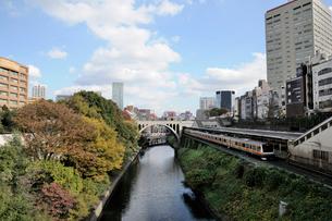 神田川と聖橋の写真素材 [FYI02498891]