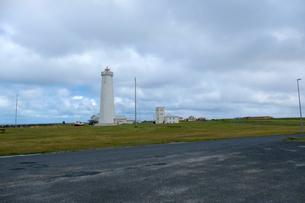 ガールスカギ灯台の写真素材 [FYI02499383]
