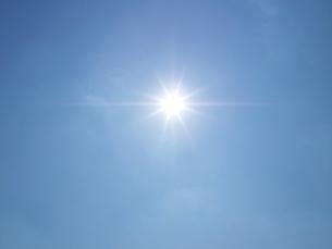 空と太陽の写真素材 [FYI02499932]