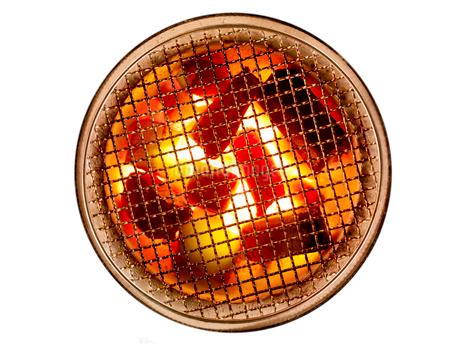燃える炭の写真素材 [FYI02500325]