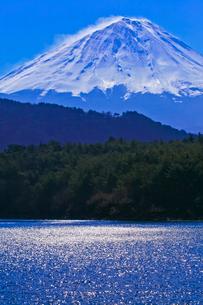 西湖から見た富士山の写真素材 [FYI02500465]