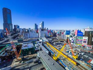 渋谷再開発の写真素材 [FYI02501264]