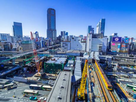 渋谷再開発の写真素材 [FYI02501543]