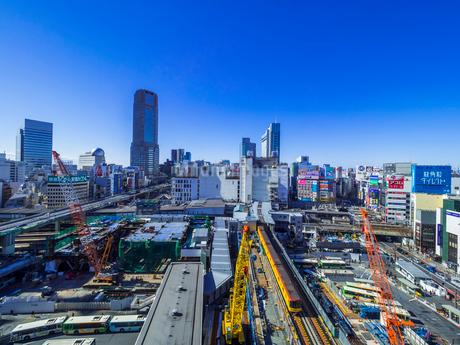 渋谷再開発の写真素材 [FYI02501801]