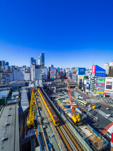 渋谷再開発の写真素材 [FYI02501890]