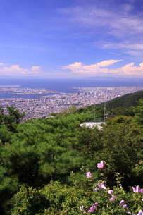 六甲山より神戸を望むの写真素材 [FYI02502302]