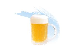 ビールジョッキのイラスト素材 [FYI02502749]