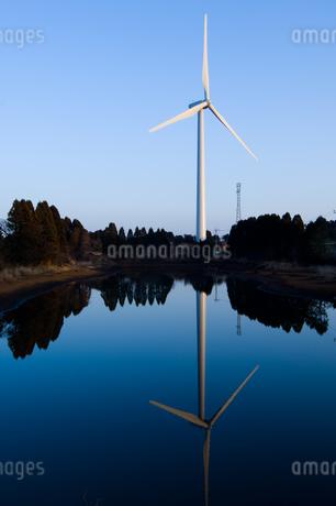 風力発電の写真素材 [FYI02505461]