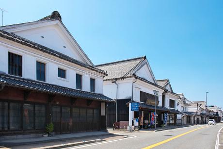 福岡県 吉井町の町並みの写真素材 [FYI02506705]