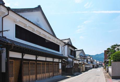福岡県 吉井町の町並みの写真素材 [FYI02507095]