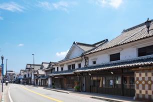 福岡県 吉井町の町並みの写真素材 [FYI02507224]