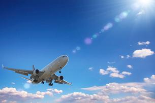 飛行機CGの写真素材 [FYI02507897]