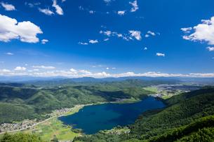木崎湖の写真素材 [FYI02508268]