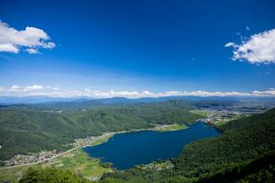 木崎湖の写真素材 [FYI02508358]