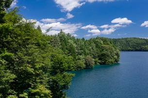 青木湖の写真素材 [FYI02508522]