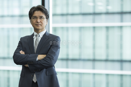 中高年のビジネスマンの写真素材 [FYI02510067]
