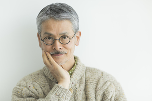 日本人シニア男性の写真素材 [FYI02510605]