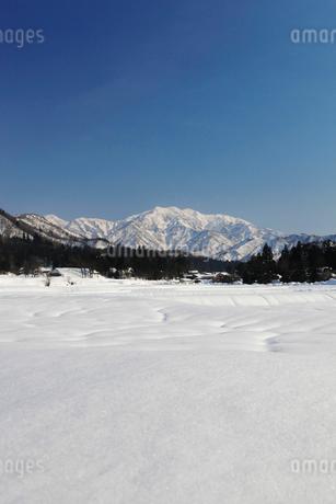 雪の守門岳の写真素材 [FYI02512517]