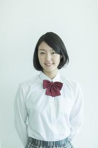 日本人女子校生の写真素材 [FYI02512679]