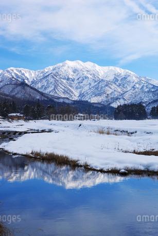 雪の守門岳の写真素材 [FYI02513416]