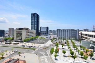 新潟駅南口周辺の写真素材 [FYI02513448]