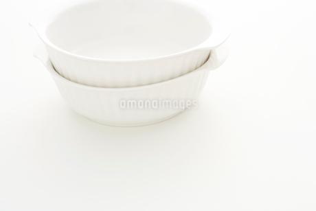 重ねた白いボールの写真素材 [FYI02513922]