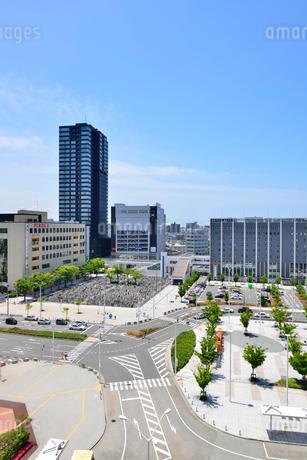 新潟駅南口周辺の写真素材 [FYI02514604]