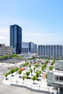 新潟駅南口周辺の写真素材 [FYI02514614]