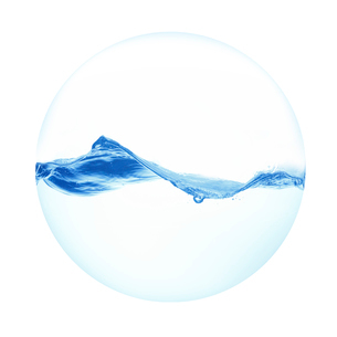 球体の水の写真素材 [FYI02515853]