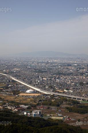 交野山山頂からの風景の写真素材 [FYI02517182]