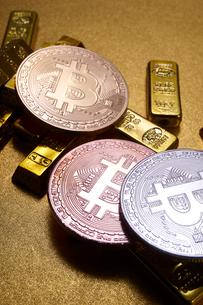 仮想通貨の写真素材 [FYI02517692]