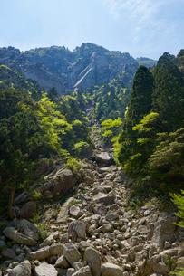 御在所岳登山道からの眺めの写真素材 [FYI02517761]