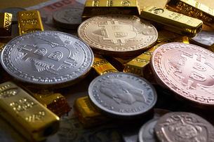 仮想通貨の写真素材 [FYI02517895]