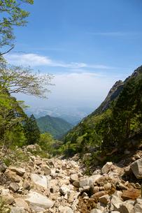 御在所岳登山道からの眺めの写真素材 [FYI02518122]