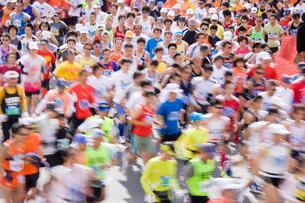 マラソンの写真素材 [FYI02518170]