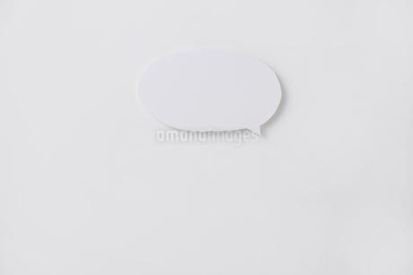 吹き出しの写真素材 [FYI02518299]