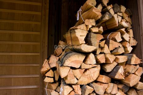 薪の写真素材 [FYI02518542]