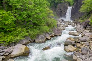 苗名滝の写真素材 [FYI02522208]