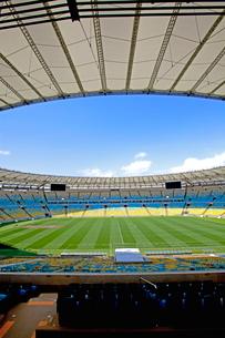 リオデジャネイロ マラカナンスタジアムの写真素材 [FYI02522954]